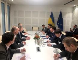 ЄС підтримає інфраструктурні проекти в Азово-Чорноморському регіоні — Зубко у Брюсселі