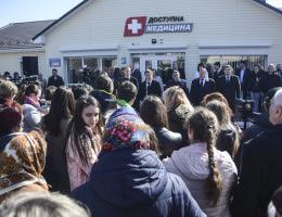 Геннадій Зубко: на Київщині запрацювала новозбудована амбулаторія з телемедициною