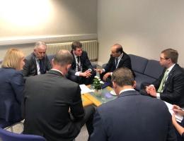 Геннадій Зубко зустрівся з заступником Міністра енергетики США Марком У. Менезесом